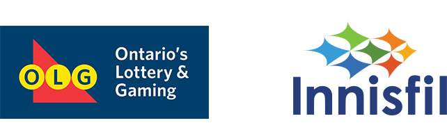 Ontario Lottery & Gaming Corporation and Town of Innisfil Logo