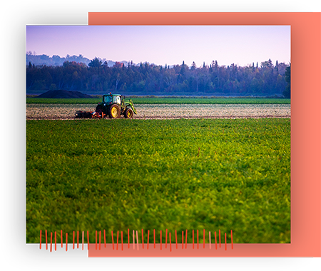 Image of Tractor in Innisfil Field