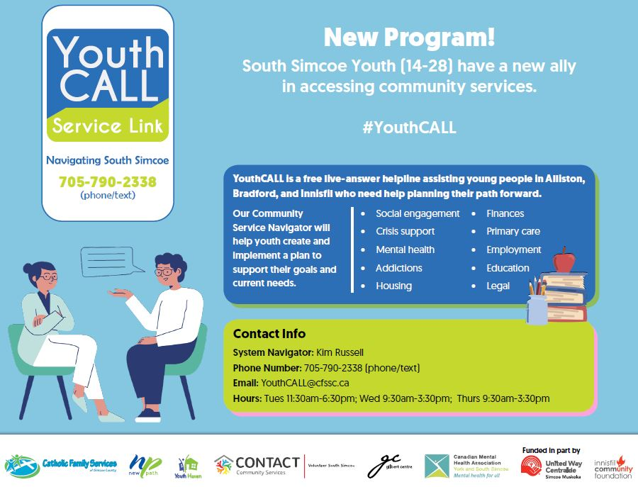 Youth Call Flyer